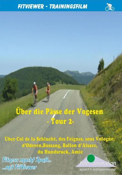 Vitalis FitViewer Film Über die Pässe der Vogesen II