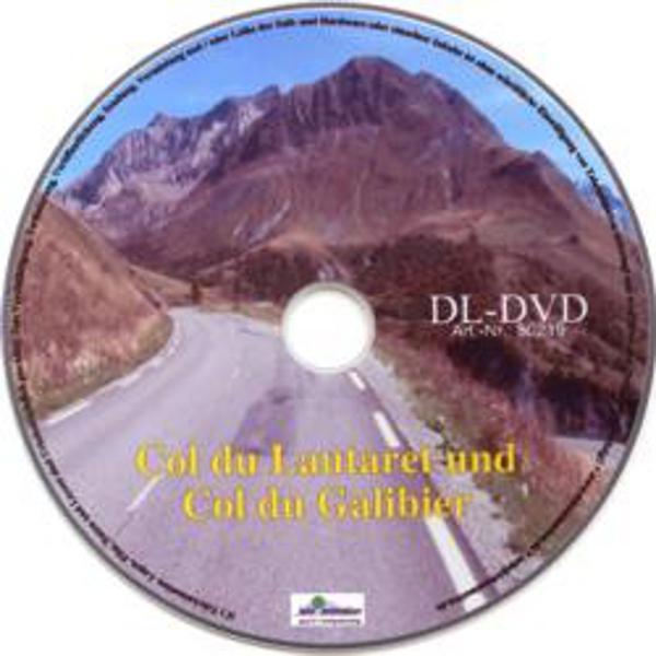 Vitalis FitViewer Film Col du Lautaret/ Col du Galibier