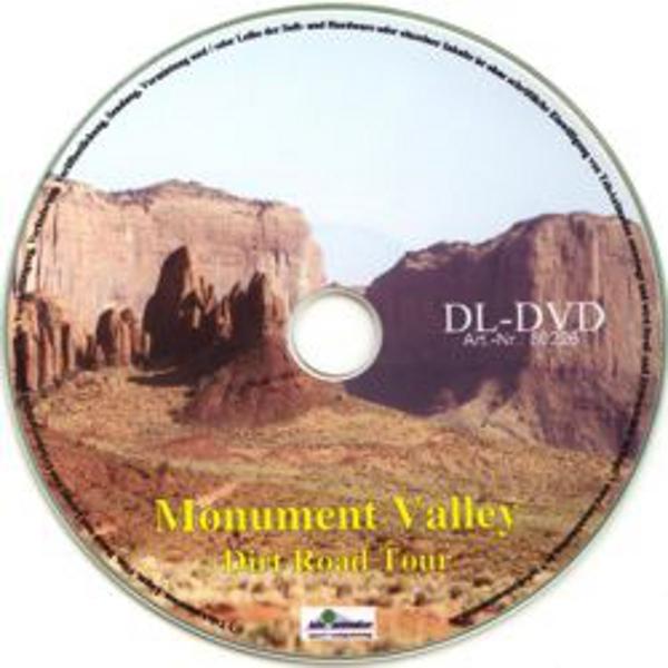 Vitalis FitViewer Film Monument Valley - Dirt Road