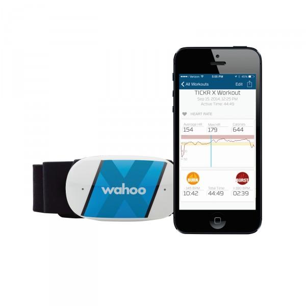Wahoo Fitness TICKR X Herzfrequenzgurt BT/ANT+