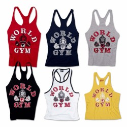 World Gym Classic Stringer Tank Top