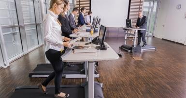 Bewegtes Büro - Konferrenz