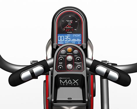Console und Display des Bowflex Trainer Max M5